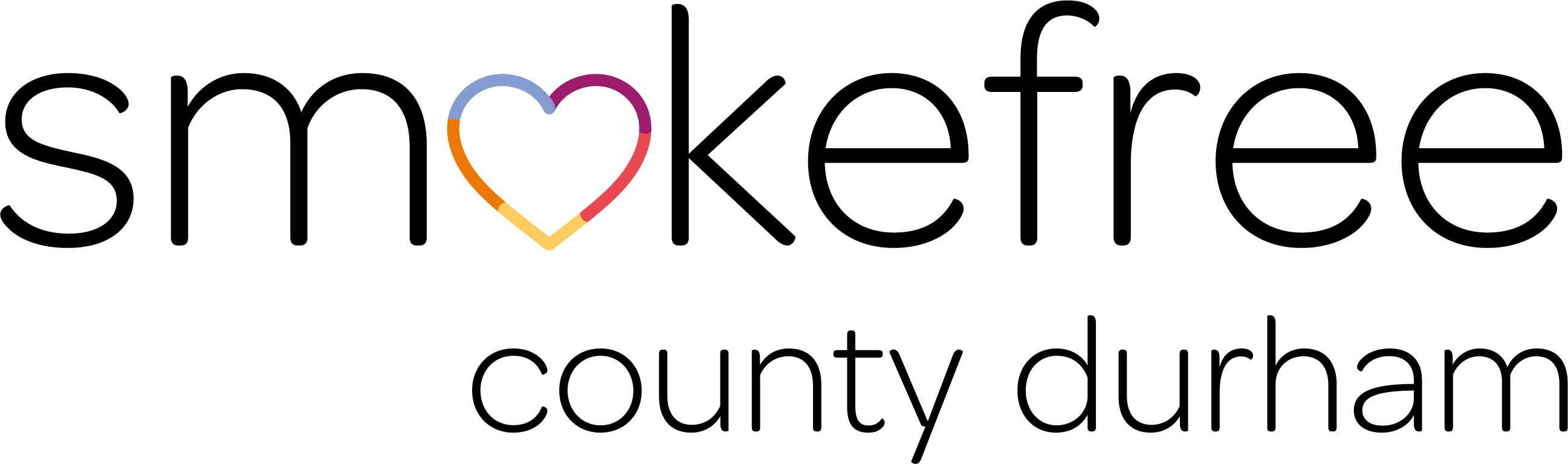 the logo of Smokefree County Durham
